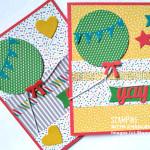 balloon framelits dies stampin up
