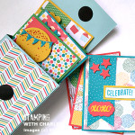 cherry on top cotton paper stationery box stampin up