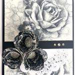 timeless elegance designer series paper stampin up spiral flowers orginals die