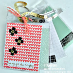 mini album project life moments like these stampin up name tag scrapbook