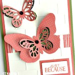 stampin up pretty petals designer series paper treat bags