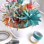 stampin up fringe scissors flowers
