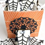 stampin up spider web doilies