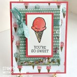 birthday bouquet stampin up honeycomb happiness