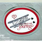 easy masculine valentine card stampin up sale a bration