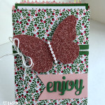 stampin up love blossoms valentines card