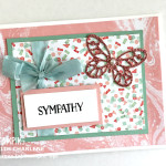 perfectly artistic designer series paper by stampin up