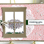 stampin up happy home stamp set and hearth and home framelits dies