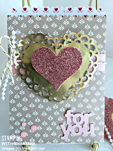 stampin up love blossoms valentines day card
