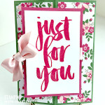 easy love blossoms designer series paper greeting card