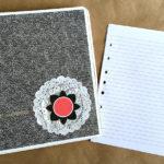 decorative three ring binder stampin up