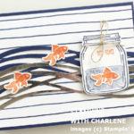 make waves with swirly scribbles thinlits