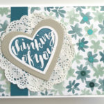 blooms and bliss designer series paper