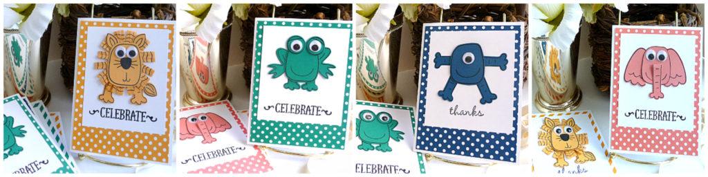 playful pals stamp set