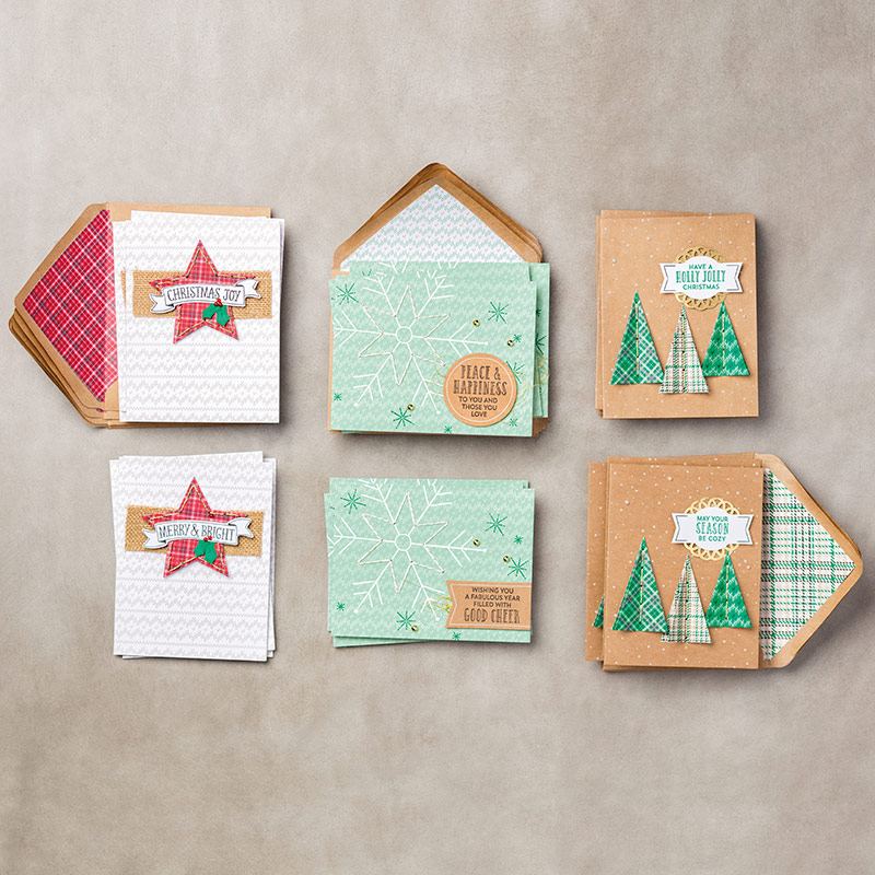 stampin up stitched with cheer