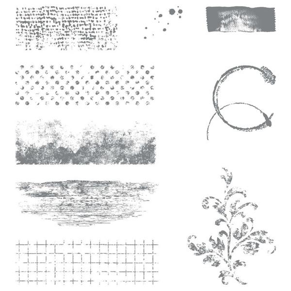 timeless textures stamp set