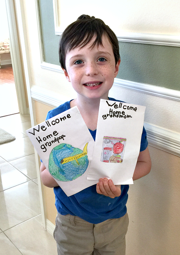 diy welcome home cards