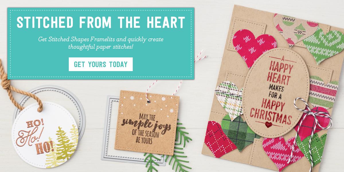 stitched shapes framelits promotions