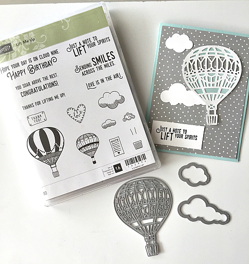 lift me up stamp set stampin up