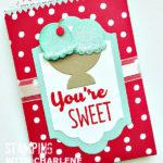 sending love designer series paper stampin up