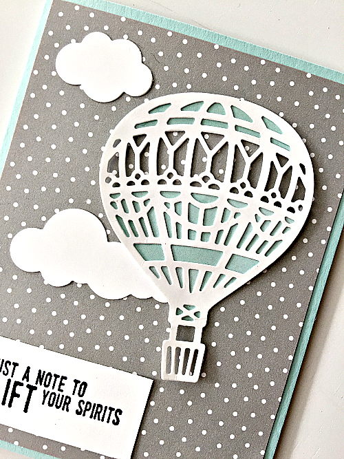 up and away thinlits dies stampin up