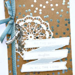 ombre ribbon from stampin up
