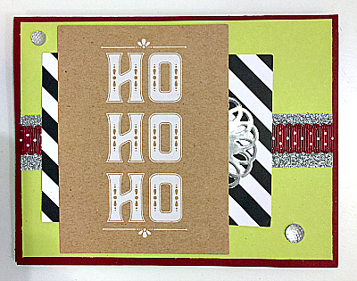 DIY Christmas Card Package