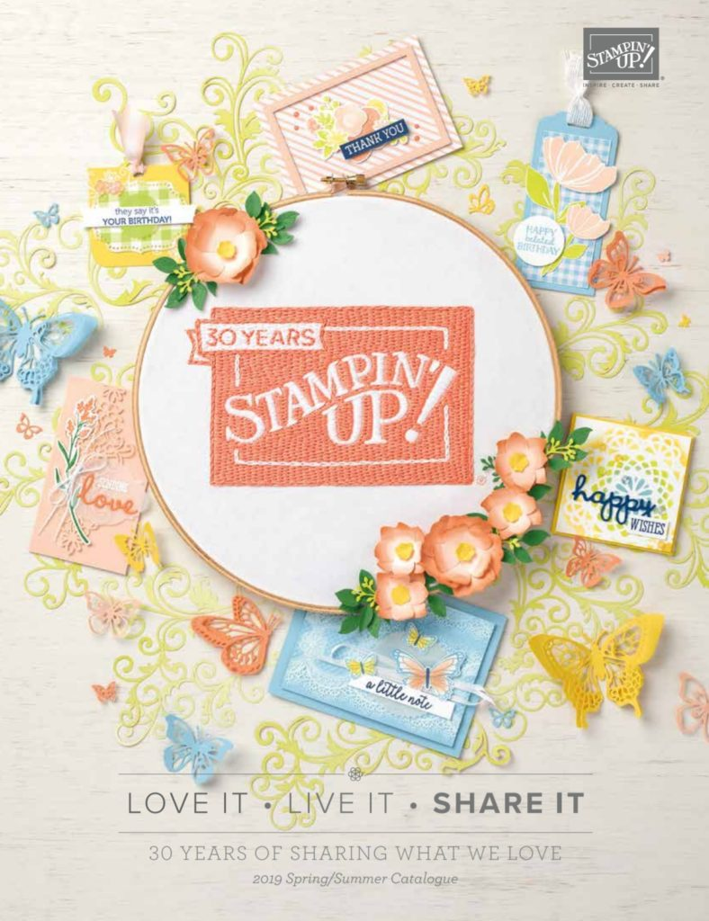 stampin up 2019 occasions catalog