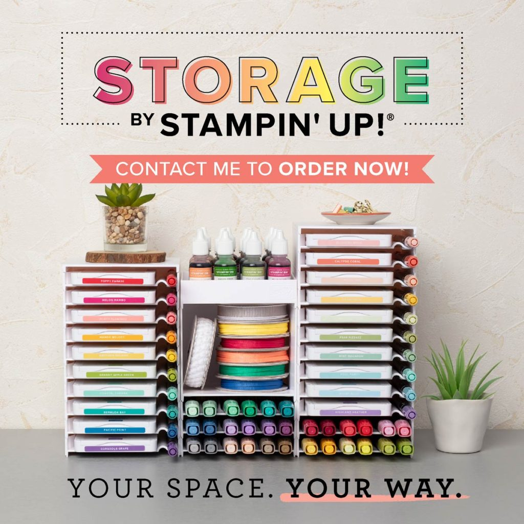 stampin up storage